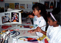 Merit Academy Students Reproduce the Masters' Paintings as They Learn About the Artists, Techniques, and Art History