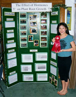 Merit students compete in County and State Science Fairs.